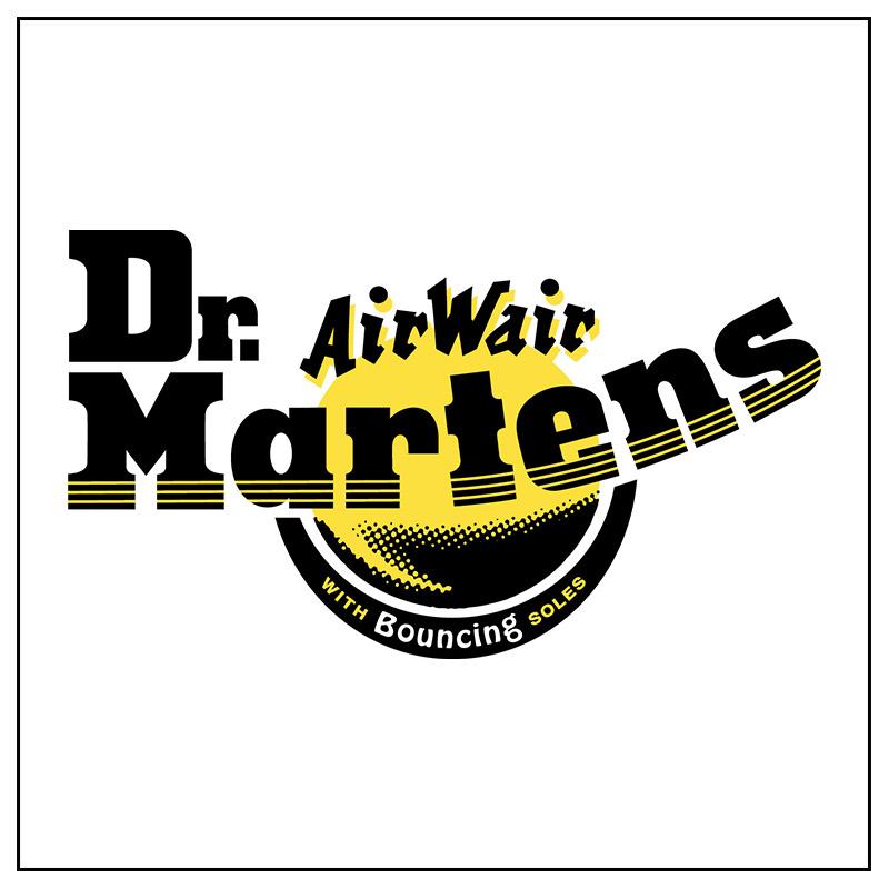 Logo e link alla marca Dr Martens