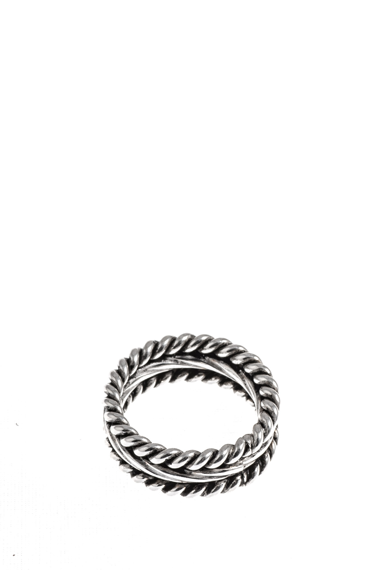 Giacomo Burroni - Multi Wire Silver Ring