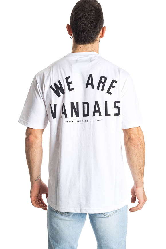 Pas De Mer - T shirt we are vandals bianca