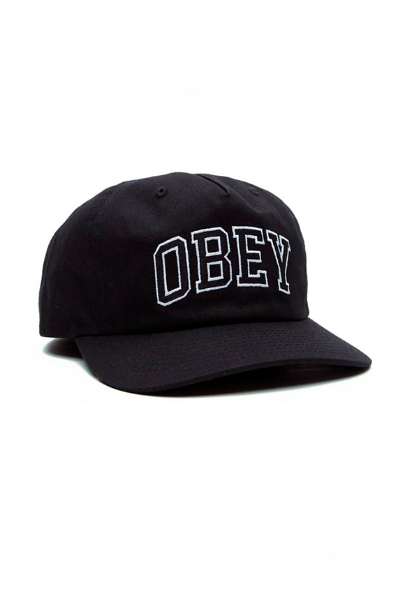 Obey - Black hat with logo