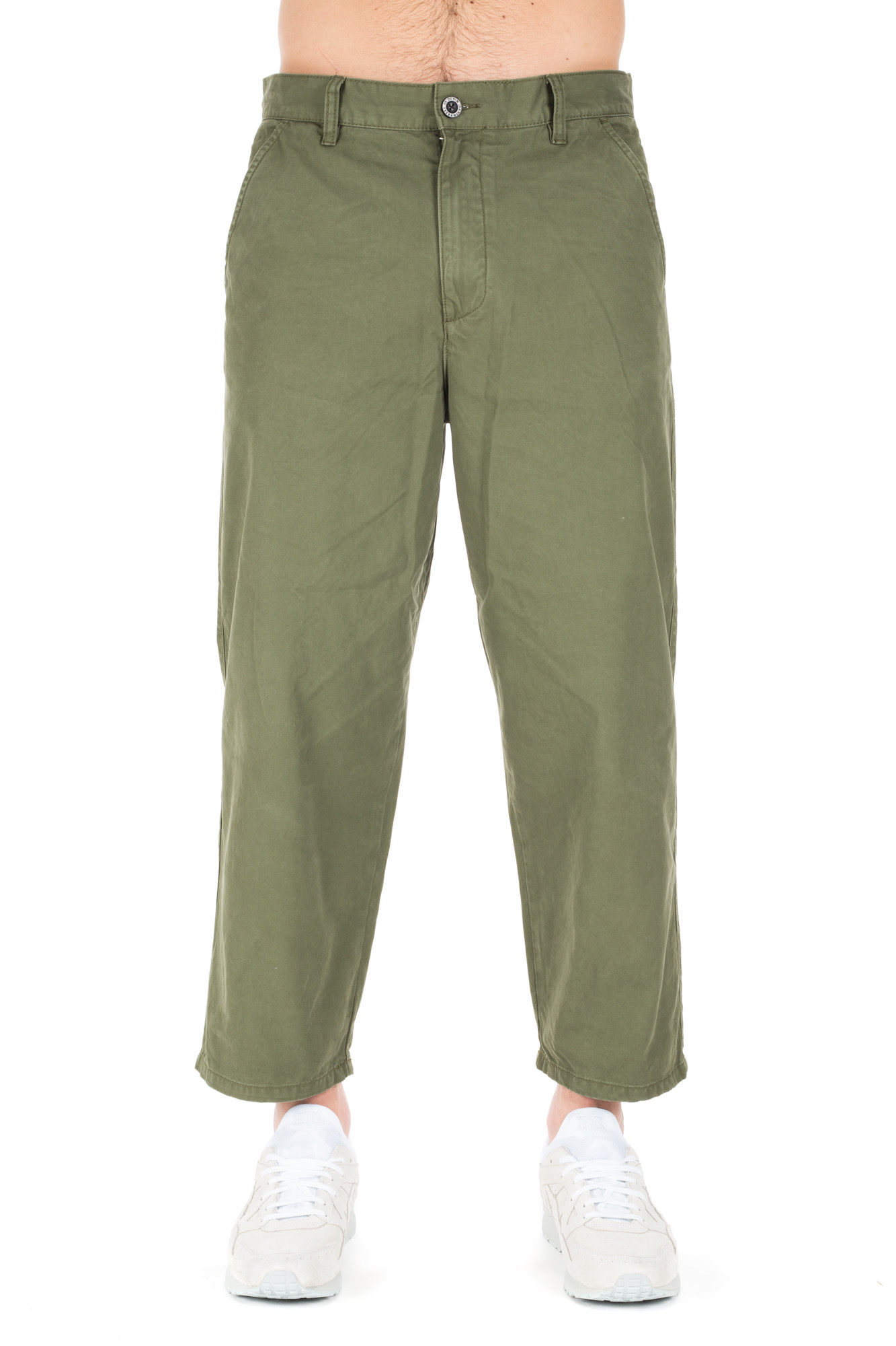 Dr. Denim - Wide Khaki Trousers
