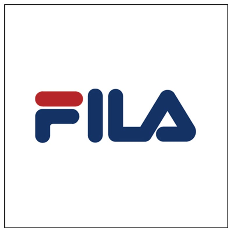 Logo e link alla marca Fila