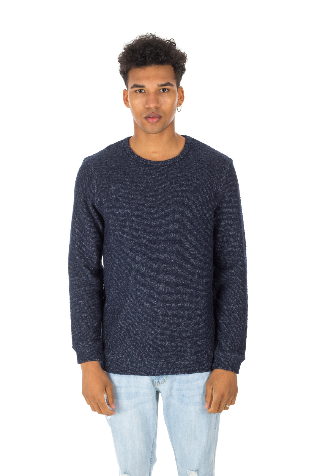 Minimum - Blue Noshiro Sweater