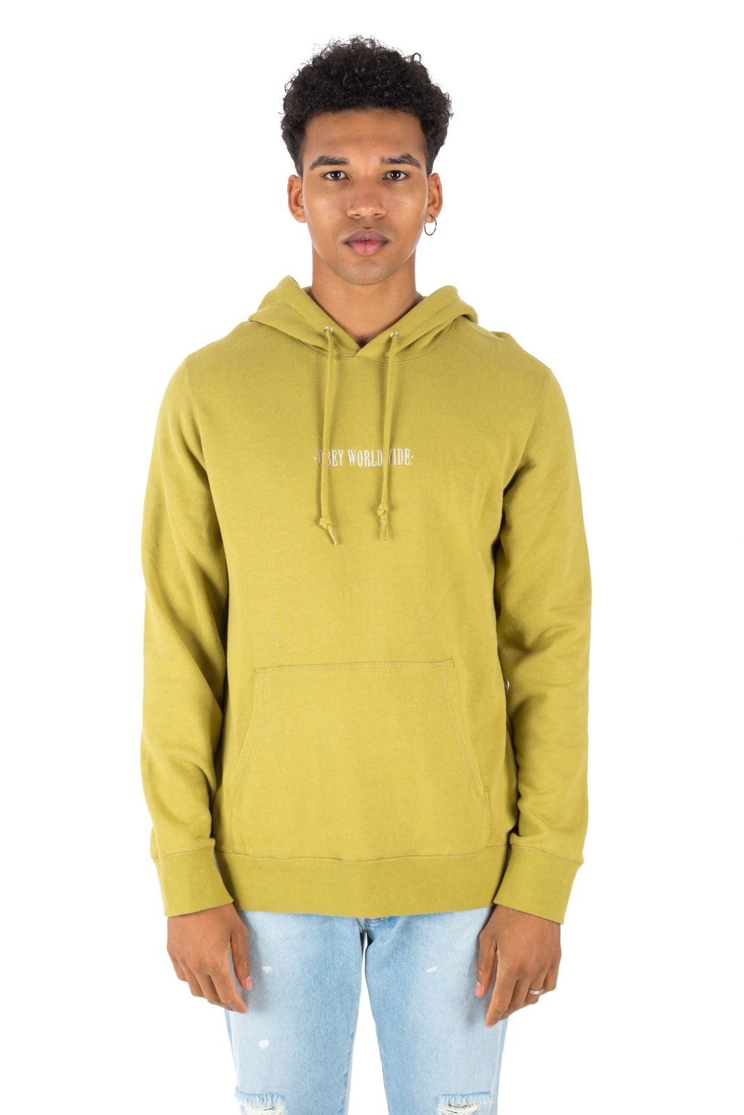 Obey - Sweatshirt New Times Green