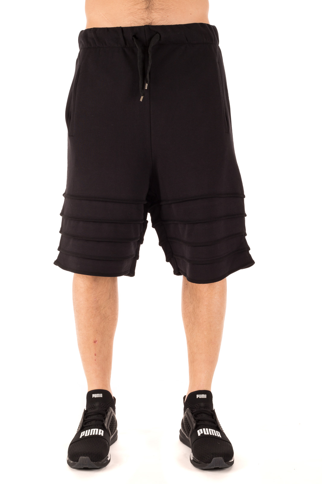 Numero 00 - Weaves Shorts Nero