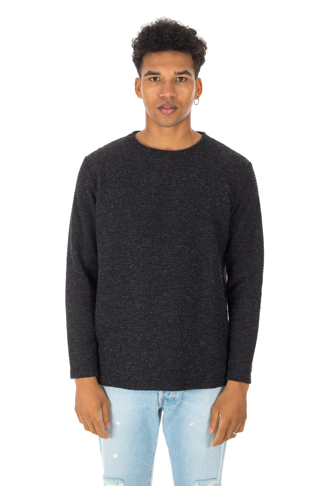Berna - Basic Anthracite Sweater