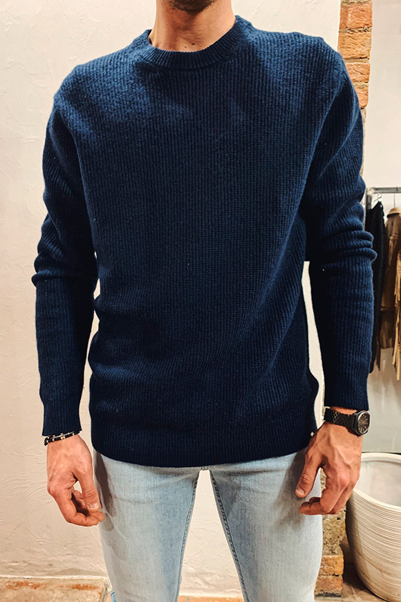 Minimum - Blue gurre sweater