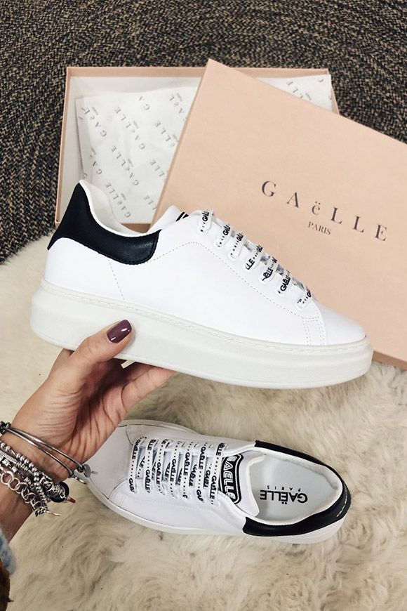 Gaelle - White platform shoes