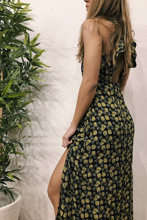 BSB - Long dress with pineapple