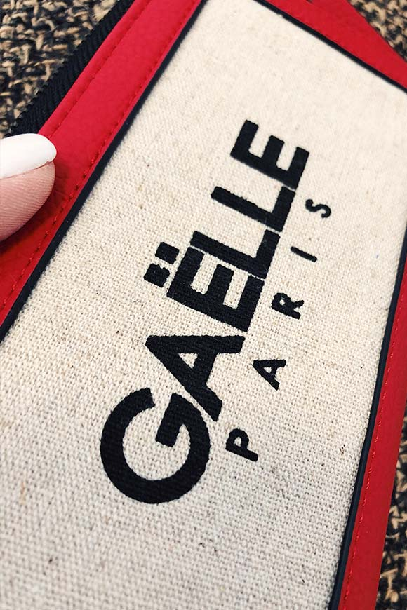 Gaelle - Canvas bag with logo