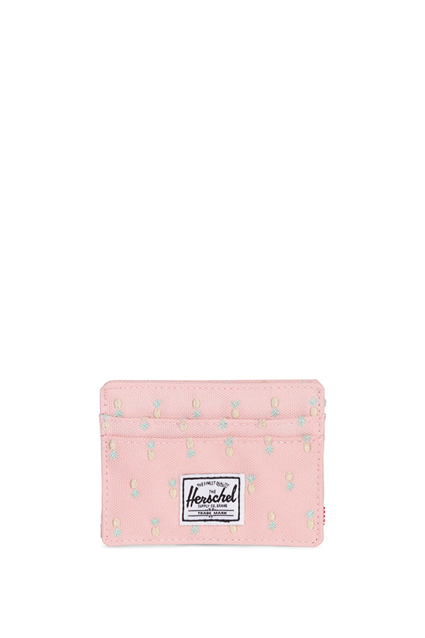 Herschel - Charlie Pink Pineapple card case
