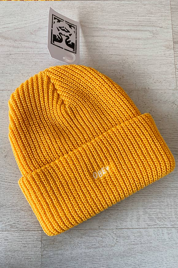Obey - Yellow hair with small logo embroidery