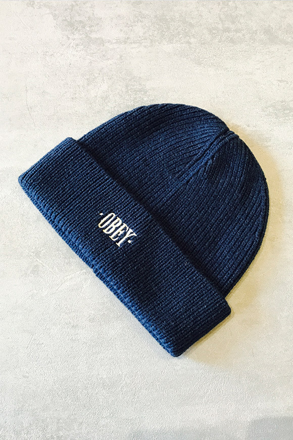 Obey - Ribbed hat with embroidered logo