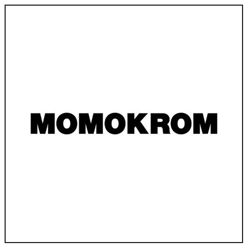 Logo e link alla marca Momokrom