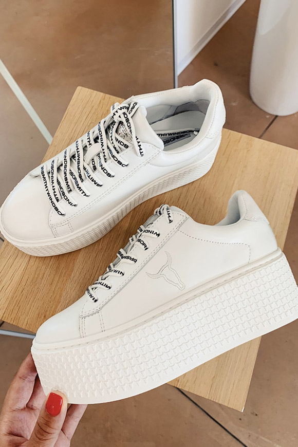 Windsor Smith - Sneakers Seoul bianche platform